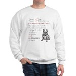 THEY are not Pugs (Smiling Frenchie) Sweatshirt