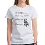 THEY are not Pugs (Smiling Frenchie) Women's T-Shi