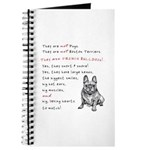 THEY are not Pugs (Smiling Frenchie) Journal