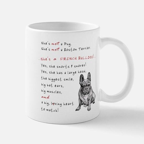 SHE'S not a Pug! (Serious) Mug
