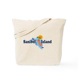 Where Is Sanibel Island In Florida Map.Sanibel Island Fl Bags Cafepress