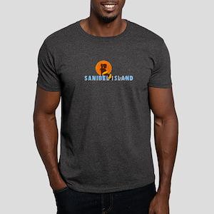 Sanibel Island FL - Sunbathing Design Dark T-Shirt