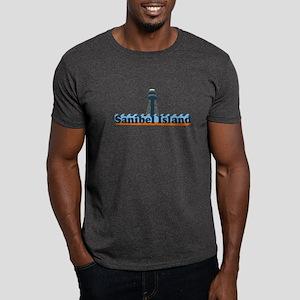 Sanibel Island FL - Lighthouse Design Dark T-Shirt
