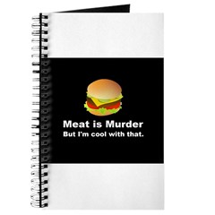 Meat is murder But I'm OK with that Journal