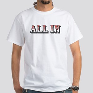 All In White T-Shirt