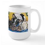Frenchies & Mini Nativity Large Mug