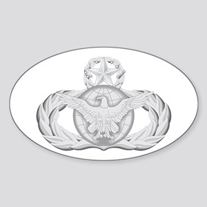 Security Forces Oval Sticker