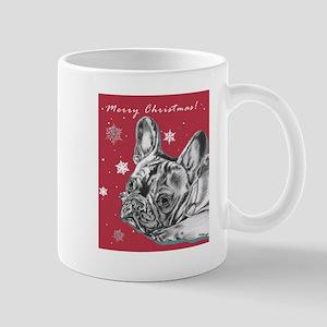 Frenchie Christmas Mug
