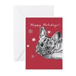 Frenchie Holiday Greeting Cards (Pk of 20)