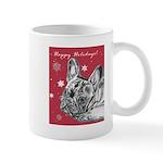 Frenchie Holiday Mug