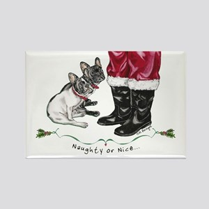 Naughty or Nice Rectangle Magnet