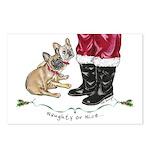 Naughty or Nice Postcards (Package of 8)