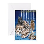 Frenchie Christmas Greeting Cards (Pk of 20)