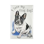 Frog Dog (PIED, BOY) Rectangle Magnet (10 pack)