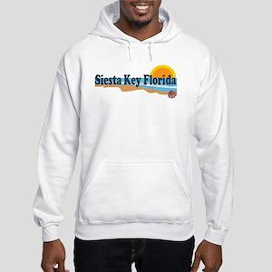 Siesta Key FL - Beach Design Hooded Sweatshirt
