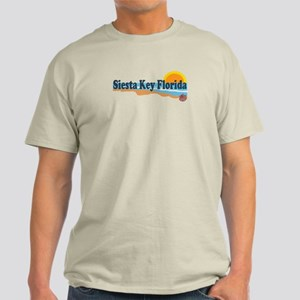 Siesta Key FL - Beach Design Light T-Shirt