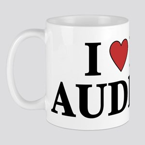 I Love My Auditor Mug