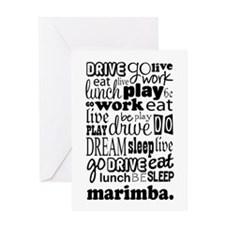 Marimba Life Greeting Card