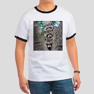Baby Raccoon Trio Ringer T