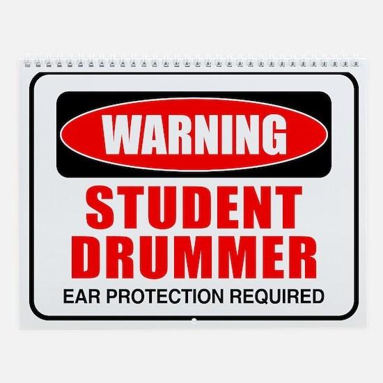 Student Drummer Wall Calendar