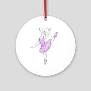 Dancing Bedlies-Ballerina Ornament (Round)