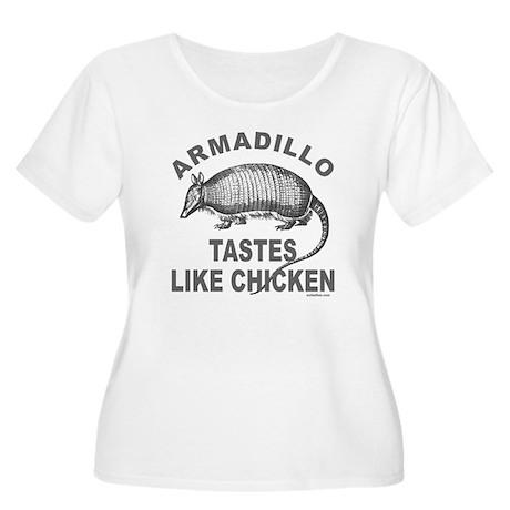 ARMADILLO Women's Plus Size Scoop Neck T-Shirt