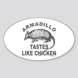 ARMADILLO Oval Sticker