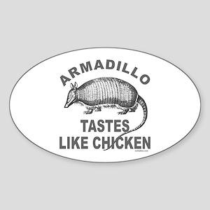 ARMADILLO Oval Sticker
