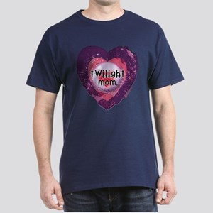 Twilight Mom Violet Grunge Heart Dark T-Shirt