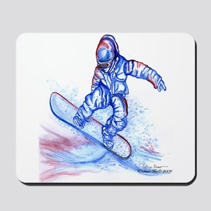 Snowboarder III Mousepad
