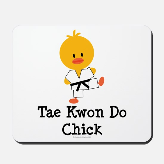 Tae Kwon Do Chick Mousepad
