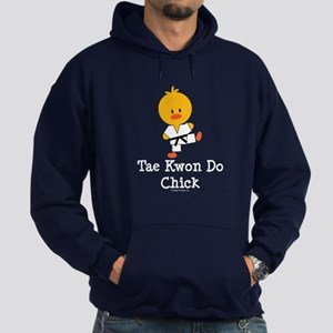 Tae Kwon Do Chick Hoodie (dark)