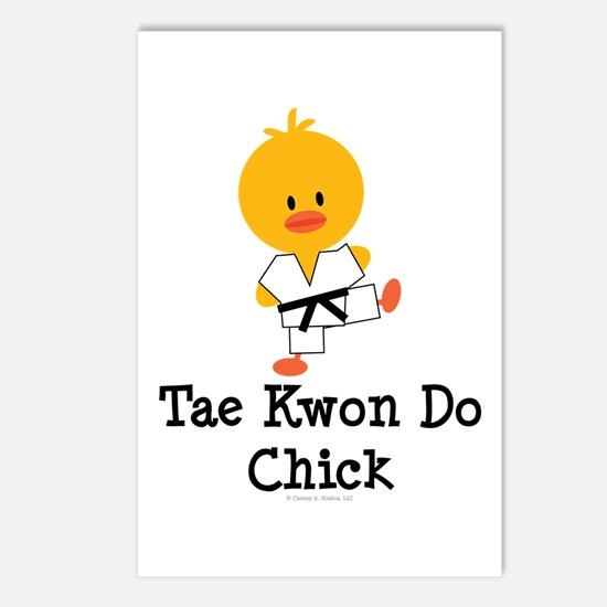 Tae Kwon Do Chick Postcards (Package of 8)