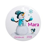 Mara 2009 Ornament (Round)