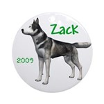 Zack 2009 Ornament (Round)
