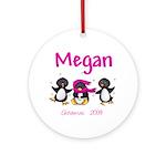 Megan 2009 Ornament (Round)