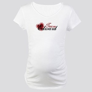 Team Edward Cullen Maternity T-Shirt