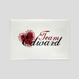 Team Edward Cullen Rectangle Magnet