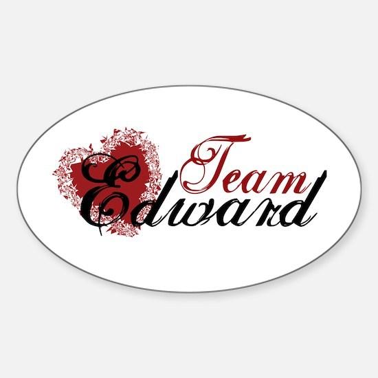Team Edward Cullen Oval Decal