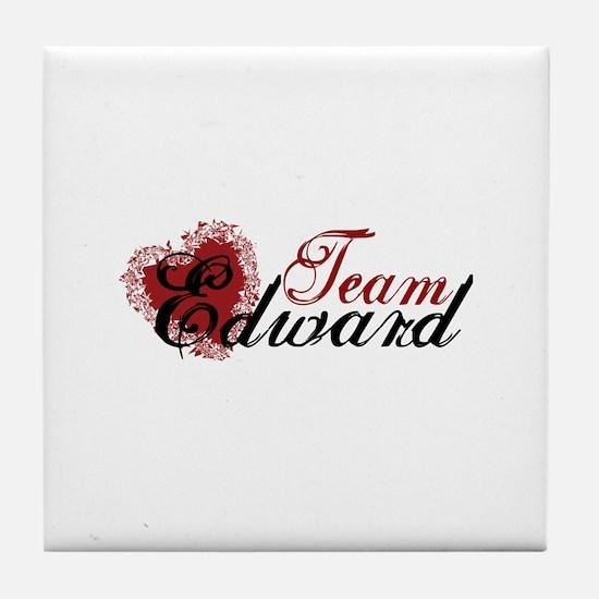 Team Edward Cullen Tile Coaster