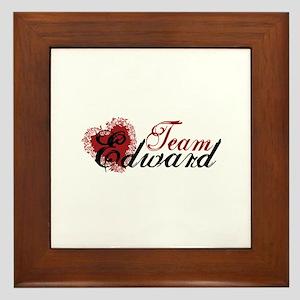 Team Edward Cullen Framed Tile