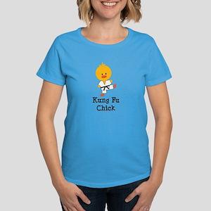 Kung Fu Chick Women's Dark T-Shirt