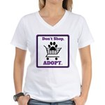 Don't Shop, Adopt. T-Shirt