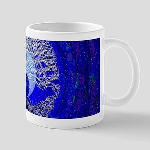 Blue Yin Yang Mugs