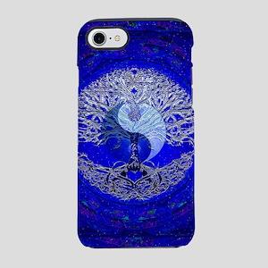 Blue Yin Yang iPhone 7 Tough Case