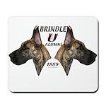 Dagmar's Brindle University Mousepad