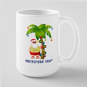 Maligayang Pasko Large Mug Mugs