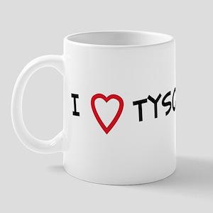 I Love Tyson Mug