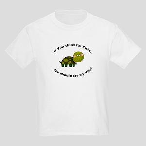 Turtle Kids Light T-Shirt- Cute Tita