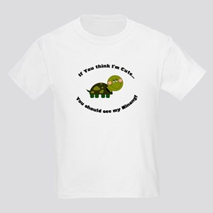 Turtle Kids Light T-Shirt-Cute Ninang